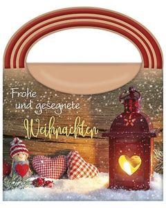 Wellness-Tasche: Frohe und gesegnete Weihnachten