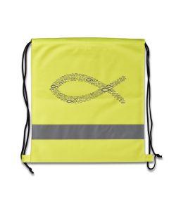 """Sportbeutel """"Ichthys"""" - neon-gelb"""