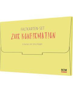"""Faltkarten-Set """"Zur Konfirmation"""""""
