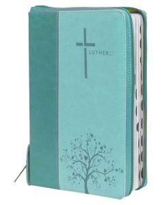 Luther21 - Taschenausgabe - Kunstleder Blau/Türkis