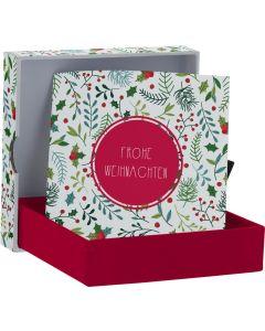Frohe Weihnachten - Geldscheinbox