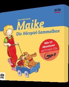 Maike - Die Hörspiel-Sammelbox MP3   CB-Buchshop - 4D Ansicht