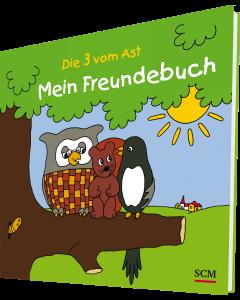 Die Drei vom Ast - Mein Freundebuch | CB-Buchshop