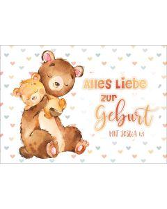 """Postkartenserie """"Bären Baby"""" - 12 Stück"""