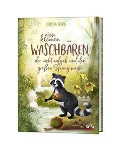 ARTIKELNUMMER: 228926000  ISBN/EAN: 9783417289268 Vom kleinen Waschbären, der nicht aufgab und den großen Sprung wagte Kerstin Toepel (Autor) CB-Buchshop Cover