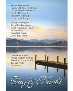 Faltkarte: Wer auf Gott vertraut - Trauer