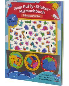 Mein Puffy-Sticker-Mitmachbuch - Bibelgeschichten