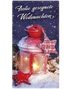 """Schoko-Grüße """"Frohe gesegnete Weihnachten"""""""