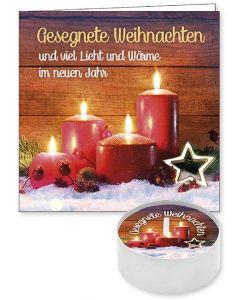 """Lichtgruß """"Gesegnete Weihnachten"""""""