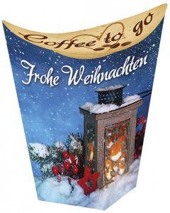 Coffee to go: Frohe Weihnachten