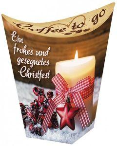 Coffee to go: Ein frohes und gesegnetes Christfest