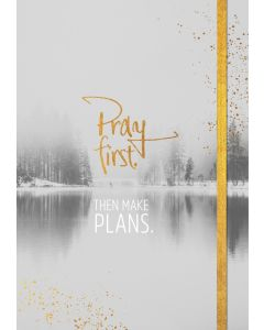 Notizbuch Grace & Hope - Pray first | CB-Buchshop
