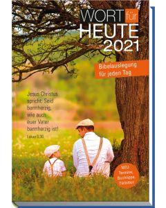 Wort für heute 2021 - Großdruck-Buchkalender