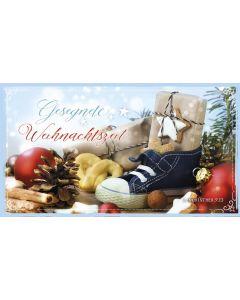 """Schokoladengrüße """"Gesegnete Weihnachtszeit"""" (40g)"""