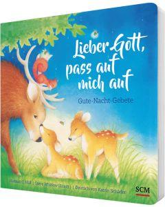 ARTIKELNUMMER: 228927000  ISBN/EAN: 9783417289275 Lieber Gott, pass auf mich auf Gute-Nacht-Gebete Hannah C. Hall (Autor), Steve Whitlow (Illustr.), Katrin Schäder (Übersetzer) CB-Buchshop 3D Cover