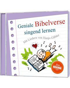 Geniale Bibelverse singend lernen - Hanjo Gäbler - CD | CB-Buchshop