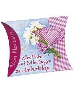"""Schafmilchseife """"Alles Liebe und Gottes Segen zum Geburtstag"""""""