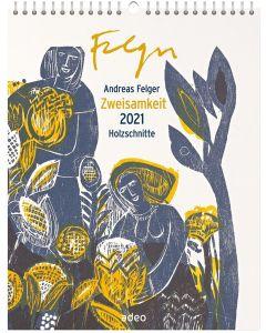 Zweisamkeit 2021 Holzschnitte - Wandkalender