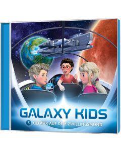 Galaxy Kids (5) - Gefahr auf dem Zwillingsmond [CD] | CB-Buchshop