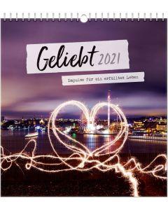 Geliebt 2021 - Wandkalender