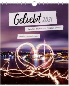 Geliebt 2021 - Postkartenkalender