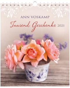 Tausend Geschenke 2021 - Postkartenkalender