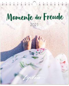 Momente der Freude 2021 - Postkartenkalender