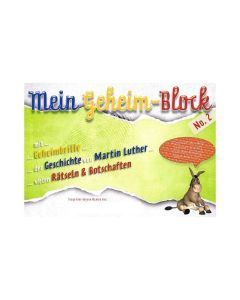 Mein Geheimblock No. 2 Martin Luther