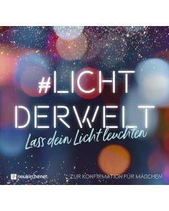 #lichtderwelt - Für Mädchen