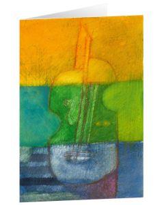 """Kunstkarten """"Violine"""" - 5 Stk"""