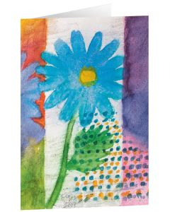 "Kunstkarten ""Blauer Frühling"" - 5 Stk"