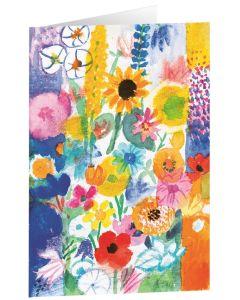 """Kunstkarten """"Bunte Wiesenblumen"""" - 5 Stk"""