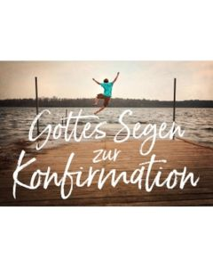 CD-Card: Gottes Segen zur Konfirmation - Motiv Steg