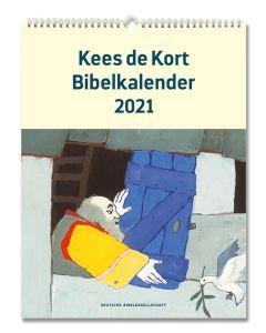 Bibelkalender 2021 - Kees de Kort