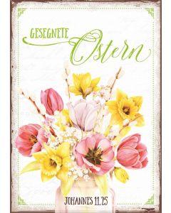 """Postkartenserie """"Gesegnete Ostern"""" - 12 Stück"""