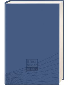 Elberfelder Bibel - Standardausgabe, ital. Kunstleder blau | CB-Buchshop