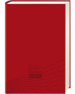 Elberfelder Bibel - Standardausgabe, ital. Kunstleder rot | CB-Buchshop