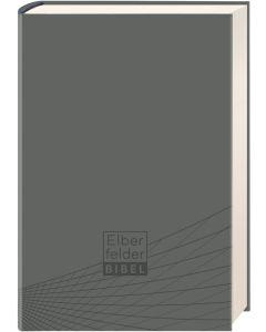 Elberfelder Bibel - Standardausgabe, ital. Kunstleder grau | CB-Buchshop