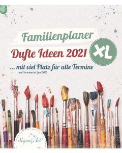 Dufte Ideen 2021 - Familienplaner
