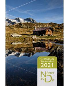 Näher zu Dir 2021 - Buchkalender Großdruck