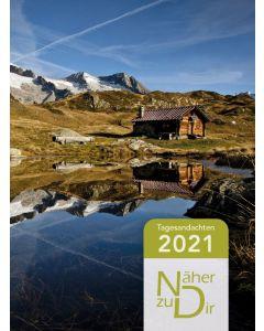 Näher zu Dir 2021 - Buchkalender Motiv Berghütte