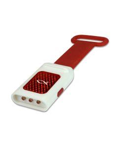 LED Taschenlampe Reflektor Ichthys rot