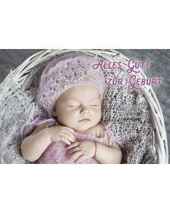 Faltkarte: Alles Gute zur Geburt