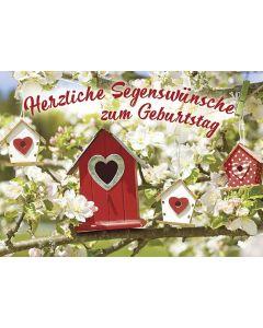 Postkarten: Herzliche Segenswünsche, 12 Stück