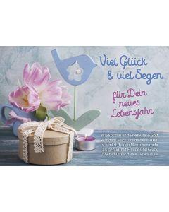Postkarten: Viel Glück & viel Segen, 12 Stück