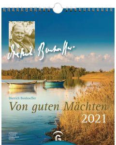 Von guten Mächten 2021 - Postkartenkalender
