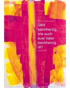 Jahreslosung 2021 - Kunstblatt 62 x 93cm