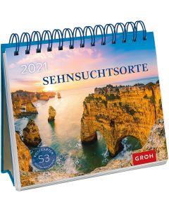 Sehnsuchtsorte 2021 - Postkartenkalender