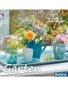 Gärten 2021 - Tischkalender