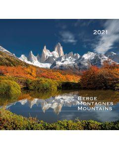 Berge 2021 - Wandkalender